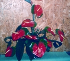 Aranjament Floral in Vas Anthurium